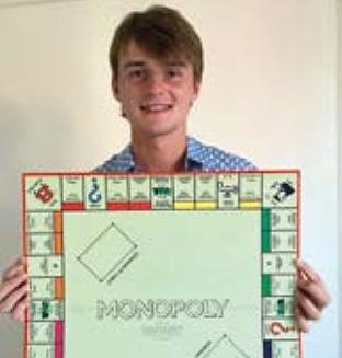 Walking the Monopoly Board